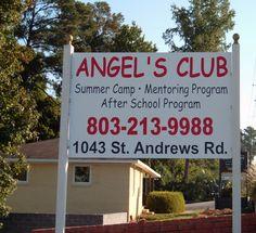4'x8' Roadside Display Sign  Angel's Club - St. Andrews Road; Columbia, SC