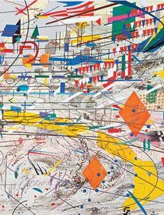JULIE MEHRETU http://www.widewalls.ch/artist/julie-mehretu/ #abstractart