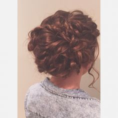 Hair by Amy! #thenineshairspa #kerastase #prom #promhair #textured #updo