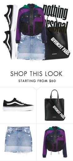 """UNTITLED"" by kompaktt on Polyvore featuring Vans, Givenchy, MANGO and Versace"