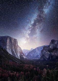 "maureen2musings:  ""Milky Way Yosemite Mads Peter Iversen  """