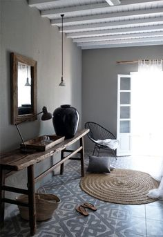 Entryway Encontrado en stilinspiration.blogspot.n