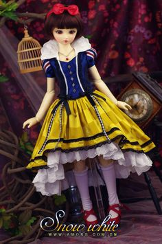 AMORS Tailor Theme Set BJD doll clothes dress 1/3 min Size SD doll clothes Snow White - Taobao