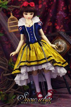 AMORS Tailor Theme Set BJD doll clothes dress 1/3 min Size SD doll clothes Snow White - Taobao