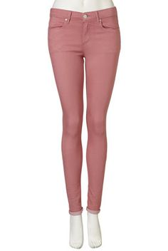 aah so cute and girly Pink Skinny Jeans, She Walks In Beauty, Girl Humor, Dusty Rose, Winter Outfits, Give It To Me, Topshop, Dressing, Girly