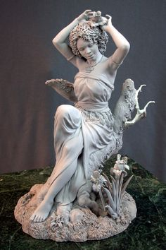 Incredible sculpture work by Mark Newman! Come across any awesome art lately? Sculptures Céramiques, Sculpture Clay, Classical Art, Clay Art, Art Reference, Sculpting, Art Nouveau, My Arts, Sketches