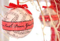 diseños originales bombas navideñas - Buscar con Google