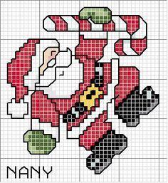 Ponto Cruz de Natal, separamos alguns gráficos maiores para você decorar sua casa.