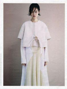 Patrick Demarchelier(Photographer)|Marie-Amélie Sauvé(Fashion Editor/Stylist)|fei fei sun (model)