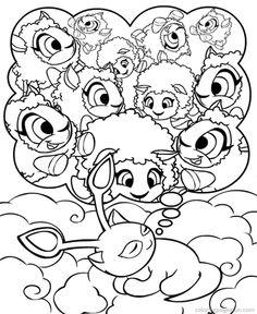 kacheek coloring pages   1000+ images about Coloring-Disney on Pinterest   Disney ...