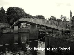 Eel Pie Island Bridge THEEEE place to be in the 1960's England.