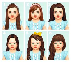 Hey i love your tumbler I'm so glad i found it! yet may i ask whats your long female toddler hair styles ^-^ 💜💜 1 Sims Four, Sims 4 Mm Cc, My Sims, Toddler Hair Sims 4, Sims Baby, Sims 4 Game Mods, Sims 4 Mods, Maxis, The Sims 4 Bebes