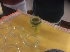 Adding the seal to create an anaerobic condition for the mixture during fermentation