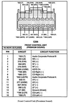 wiring diagram radio ford