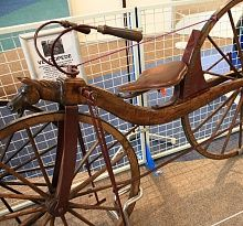 Inventor of the Bicycle The bicycle Two wheeled vehicles were invented previously, but the wheel-propelled bicycle was invented in1839 by Kirkpatrick MacMillan of Scotland. He was a blacksmith at Courthill Smithy of Keir Mill, Dumfriesshire.