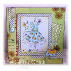 katy sue designs fabulous fashion - Google Search Dress Card, Pretty Cards, Dimples, Mini Albums, Card Ideas, My Photos, Projects To Try, Card Making, Feminine