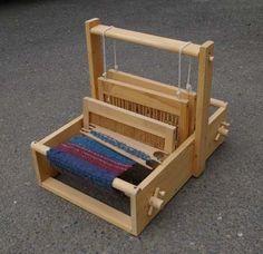 Handmade Table Loom by TumbleweedWoodworks on Etsy, $125.00