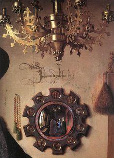 """jan van eyck   ... Histoire • Consulter le sujet - """"Les Époux Arnolfini"""" de Van Eyck"""