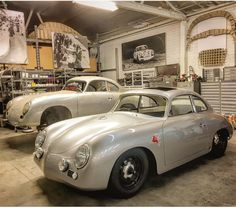 RHD 356 Sunroof on the ground and ready to hit the road in January. Porsche 356 Outlaw, Porsche 356 Speedster, Porsche 356a, Porsche Cars, Old Sports Cars, Vintage Porsche, Vintage Cars, Sweet Cars, Hot Cars