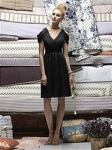 Lela Rose LR161 #black #bridesmaid #dress