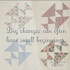You can either settle and accept things the way they are, or step up to responsibility and make a change. It's okay to start slowly. Vintage quilt found in Chandler, Arizona. . . #quilt #quilting #patchwork #quiltville #bonniekhunter #vintagequilt #antiquequilt #deepthoughts #wisewords #wordsofwisdom #quiltvillequote #quote #inspiration #scrapquilt