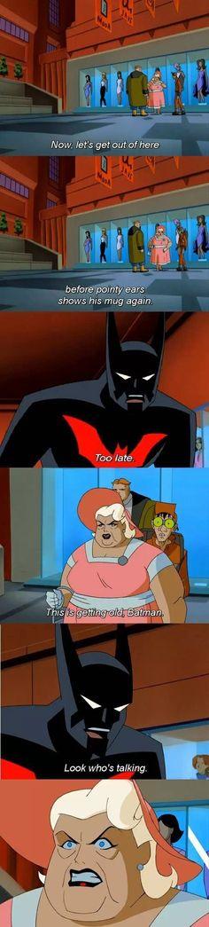 Burned by Batman