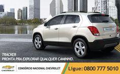 Não existe mesmo uma SUV mais exploradora que a #Tracker.  www.consorciodeauto.com.br