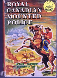 Vintage Fifties Royal Canadian Mounted Police Book by Neuberger 1953 Signed Inscribed by Author Oregon Senator Mounties History Canada Oregon House, History Facts, Book Cover Design, Old Pictures, Vintage Signs, Vintage Advertisements, The Ordinary, New Books, Police