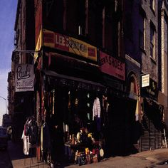 Beastie Boys, Paul's Boutique, 1989 - The Entire Album! - Do yourself a favor and just kick back and go on a journey of hip-hop insanity - I think at the time, this album had more samples than any album in history - So Much Fun! Rap Albums, Hip Hop Albums, Best Albums, Music Albums, Greatest Albums, Beastie Boys, Cgi, High Plains Drifter, Paul's Boutique