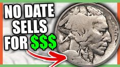 No date buffalo nickel sells for good money - rare nickels worth money. These are Indian head nickels to look for in your coin collection. Old Coins Worth Money, Old Money, Old Coins Value, Coin Dealers, Valuable Coins, Coin Worth, American Coins, Coin Values, Show Me The Money