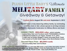 Plush Little Baby Ultimate #MilFam Giveaway (September 6th)
