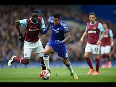 Chelsea vs West Ham 2-2 All Goals and Highlights 2016