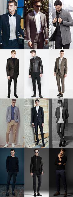 Men's Minimal Formal/Smart-Casual Outfit Inspiration Lookbook