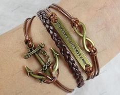 charm bracelets infinite & arrow  where is a will by lifesunshine, $6.99