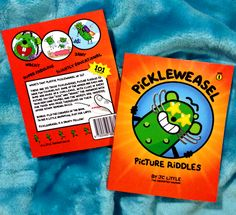 THE BOOK IS OUT! PickleWeasel Picture Riddles for kids aged 8 - 12 - full colour paperback. #kidsbooks
