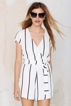 Lioness Roman Holiday Crepe Romper - Clothes : Rompers + Jumpsuits