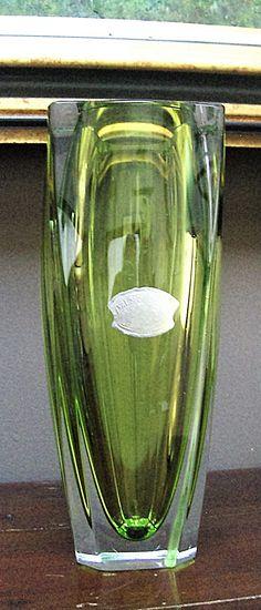 Val St Lambert Vase 'Sitelle' - 1961/1967.