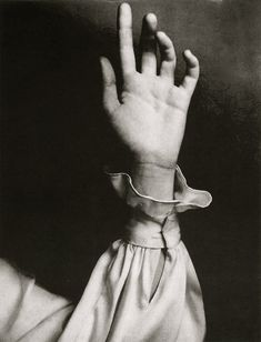 The 'Hand'.... photographed by  Richard Avedon for Vogue, 1968.