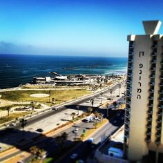 Room with a view - in fact all of them have one at Dan Panorama Tel Aviv