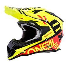 Oneal 10 Series Cahuilla Creek Carbono Motocross Enduro casco MTB orange 2016