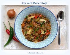 low carb Bauerntopf Wieder ein Klassiker der deutschen Küche ganz einfach low carb gerecht umgewandelt. Egal ob Sommer oder Winter… dieser Bauerneintopf schmeckt immer und eignet sich prima zum Re…