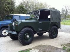 Land Rover 80 inch soft top canvas.