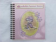 "Handmade Grandma's ""Bragbook"" (handbag-sized photo album)"