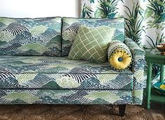 Crazy about the fabrics from the new Madcap Cottage from Robert Allen. We carry in our store and they are fantastic!