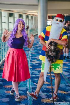 Katrena Woodson [as Madam Mim] & Ryan Milligan [as Merlin] (Cosplay by KatrenaLove & Disney Cosplay Costumes, Couples Cosplay, Villain Costumes, Disney Halloween Costumes, Halloween Cosplay, Creative Halloween Costumes, Cool Costumes, Halloween Fun, Costume Ideas