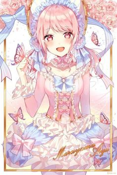 For all kinds of moe art. Especially cute anime girls and boys being cute. Content from anime, manga,. Manga Girl, Girls Anime, Kawaii Anime Girl, Anime Art Girl, Anime Chibi, Manga Anime, Anime Oc, Pretty Anime Girl, Beautiful Anime Girl