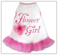dog flower girl outfit! Making Maggie wear this Lol