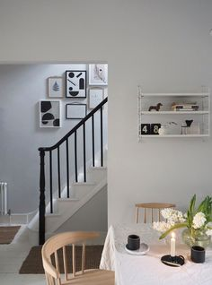 inside my home - cate st hill White Wall Bedroom, White Walls, Bedroom Bed, Simple Interior, Interior Design, Room Interior, Compact Sofa Bed, Ikea Armchair, White Floorboards