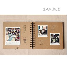 WEDDING GUESTBOOK This Spiral Bound Kraft scrapbook is the perfect blank canvas for your creativity. It contains 38 sheets / 76 pages of 450gsm quality cardstock: ideal