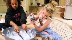 DIY: HOW TO MAKE FLUFFY SLIME   Alabama Barker Alabama Barker, Making Fluffy Slime, Things To Do, Guys, How To Make, Things To Make, Sons, Boys